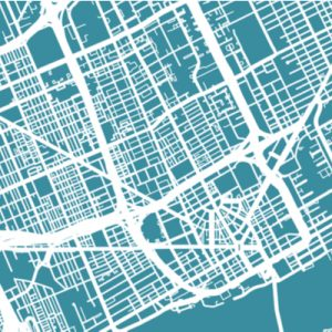 A map of Detroit