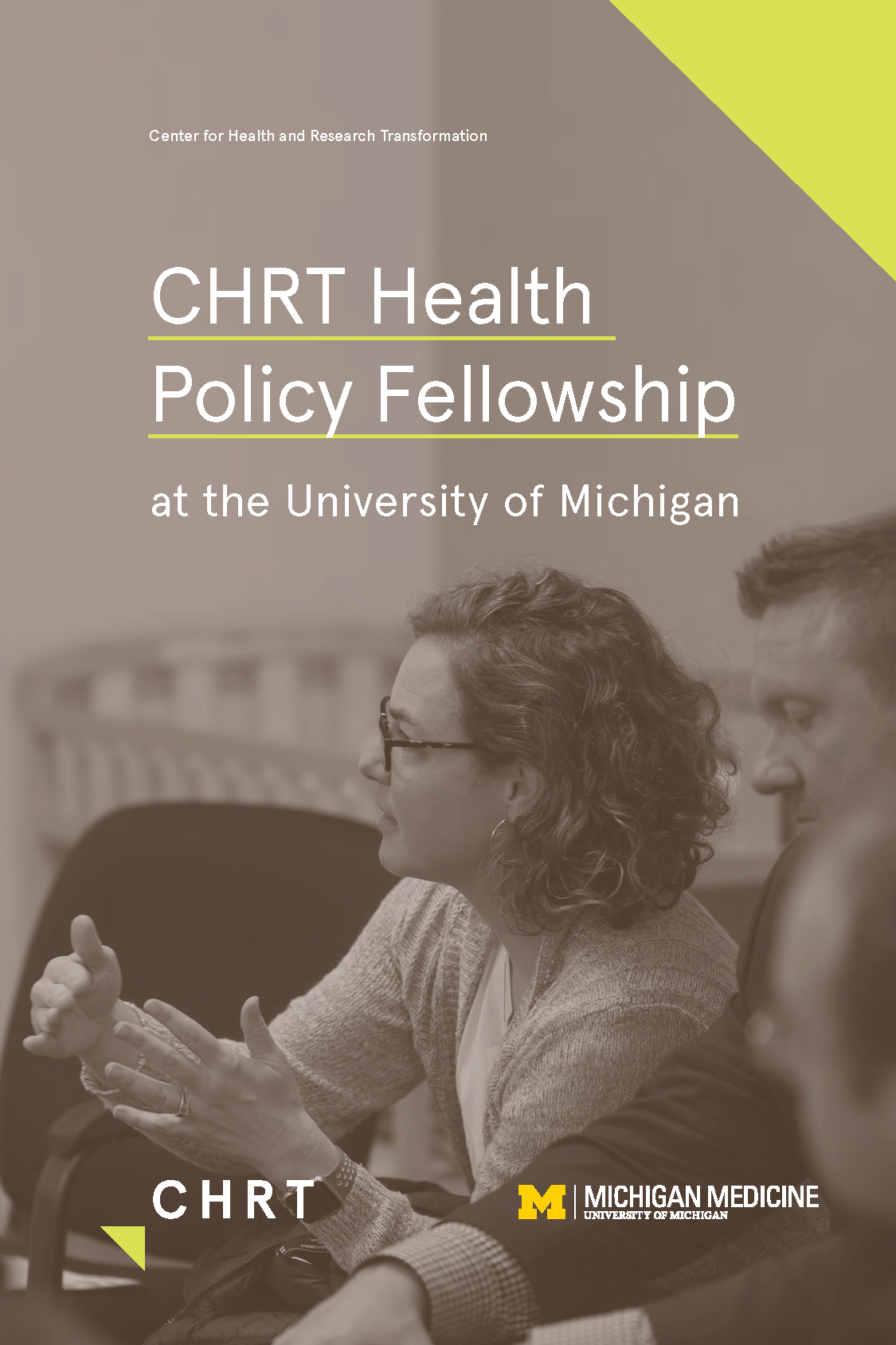 Download the 2020 CHRT Policy Fellowship brochure as a PDF