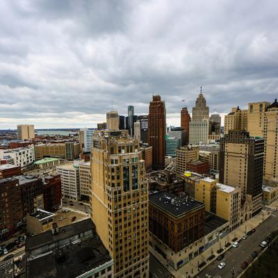 detroit, buildings