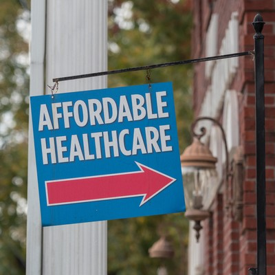 affordable health care sign