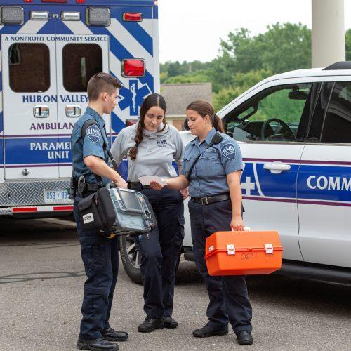 Community paramedics coordinate patient care